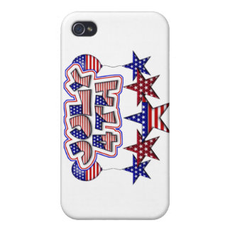 July 4th Stars iPhone 4/4S Cover