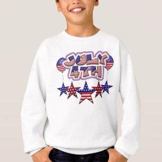 July 4th Stars Sweatshirt
