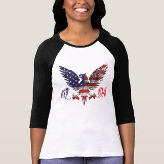 July 4th t-shirt for women.