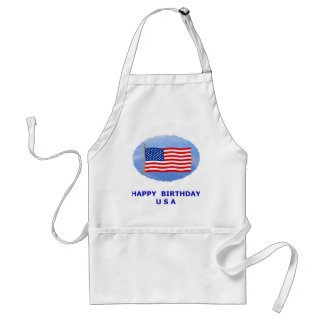 July 4th T-Shirts and Unique Gift Items Apron