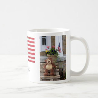 July 4th Teddy Bear Mug