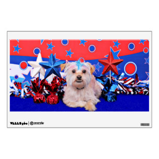 July 4th - Terrier X - Jango Room Stickers