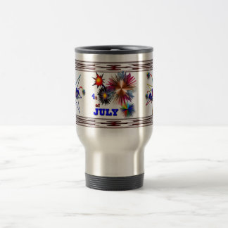 July 4th travel mug