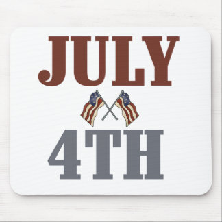 July 4th Tshirts and Gifts Mouse Pad