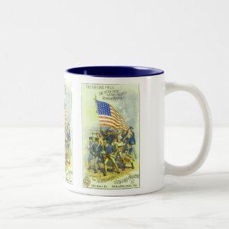 July 4th Two-Tone coffee mug