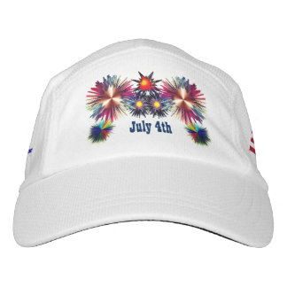July 4th USA Headsweats Hat