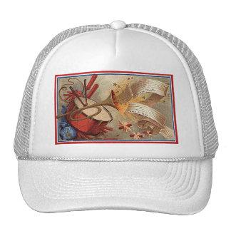 July 4th vintage yankee doodle trucker hat