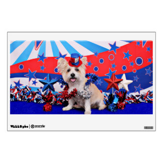 July 4th - Westie X - Lady Room Graphics