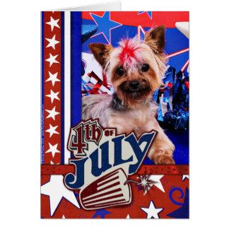July 4th - Yorkie - Kinsey Card
