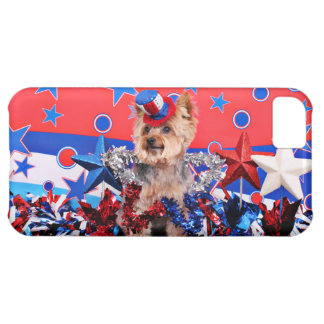 July 4th - Yorkie - Vinnie Cover For iPhone 5C