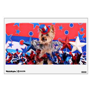 July 4th - Yorkie - Vinnie Wall Skins