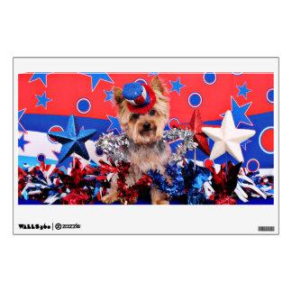 July 4th - Yorkie - Vinnie Wall Skin