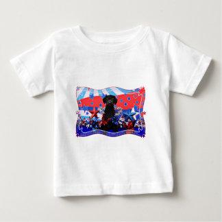 July 4th - YorkiePoo - Max Baby T-Shirt