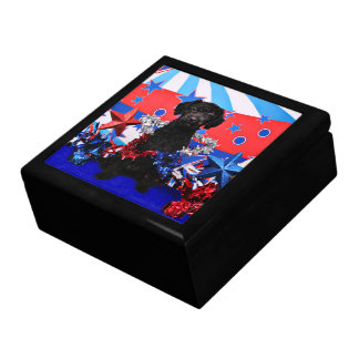 July 4th - YorkiePoo - Max Jewelry Boxes