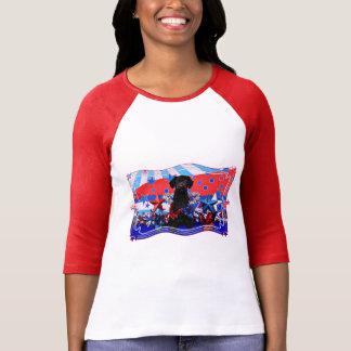 July 4th - YorkiePoo - Max T-Shirt