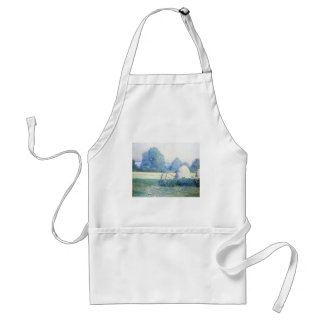 July Afternoon by Guy Rose Adult Apron