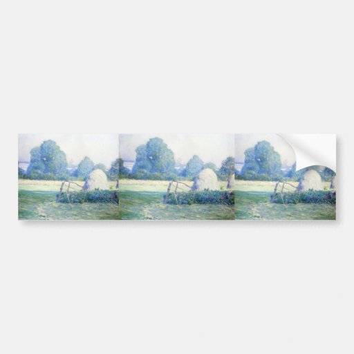 July Afternoon by Guy Rose Bumper Sticker
