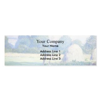 July Afternoon by Guy Rose Business Card Templates