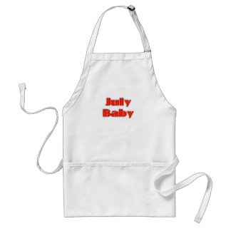 July Baby Aprons