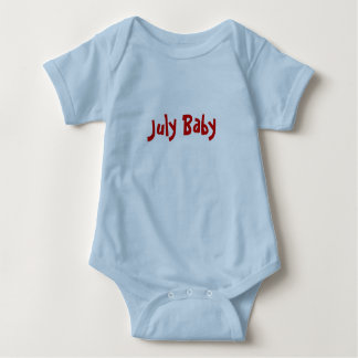 July Baby Baby Bodysuit