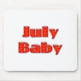July Baby Mouse Pad