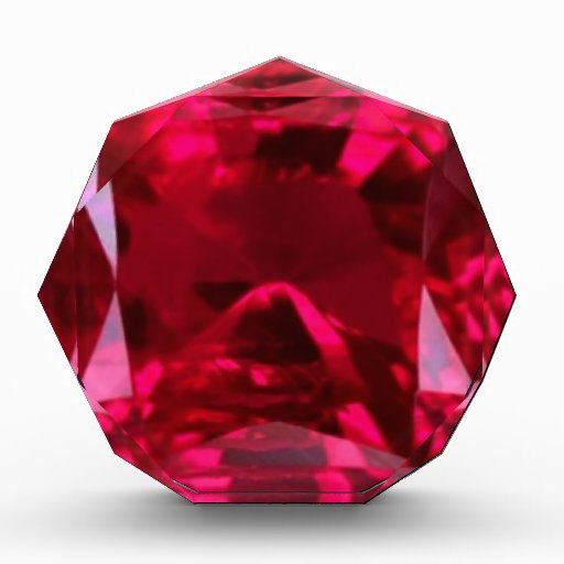 July Birthstone- Red Ruby  by Sharles Awards