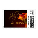 July Calla Lily Wedding Stamp