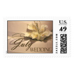 July Calla Wedding Cake Stamps
