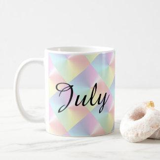 July Diamond Shimmer Coffee Mug by Janz