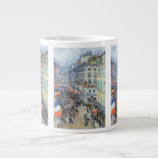 July Fourteenth, Rue Daunou by Childe Hassam Giant Coffee Mug