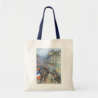 July Fourteenth, Rue Daunou by Childe Hassam Tote Bag