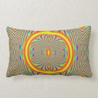 July Heat… Sunrays on the Beat Lumbar Pillow
