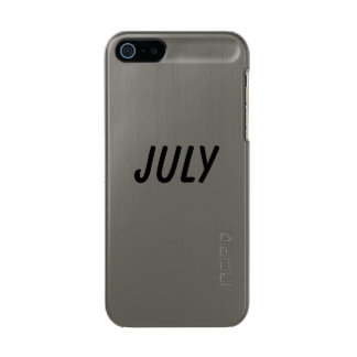 july metallic phone case for iPhone SE/5/5s