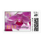 July Orchid Postage