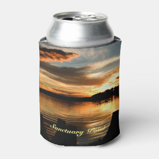 July Sunset Can Cooler
