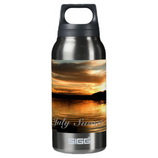 July Sunset Insulated Water Bottle