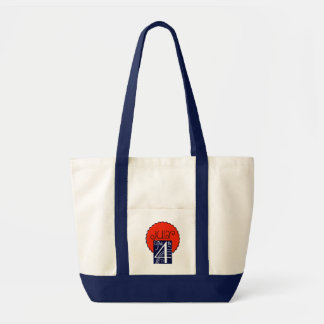 July the 4th mod retro patriotic Independence Day Impulse Tote Bag