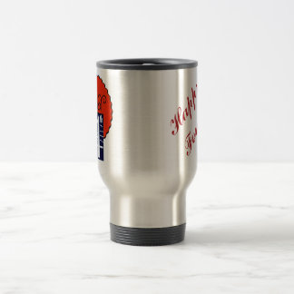 July the 4th mod retro patriotic Independence Day Travel Mug