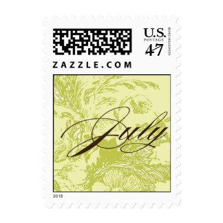July Wedding monogram stamp