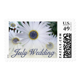 July Wedding stamps