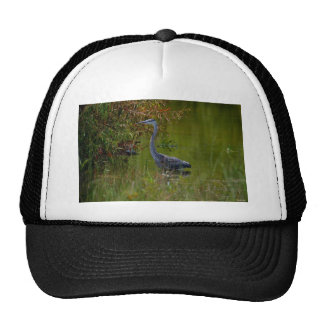 July's Blue Heron Trucker Hat