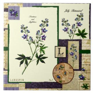 July's Flower Ceramic Tiles