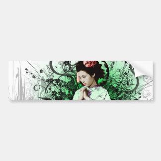 Julzips - Geisha Bumper Sticker