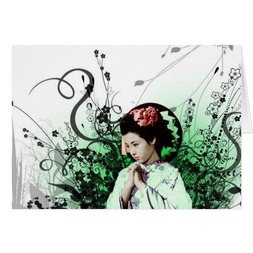 Julzips - geisha felicitaciones