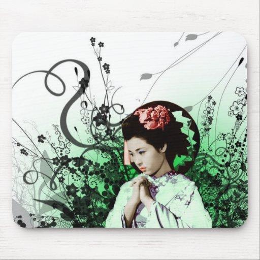 Julzips - geisha mousepads