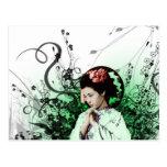 Julzips - geisha postal