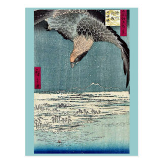 Jumantsubo del susaki de Fukagawa por Ando, Hirosh Postales