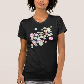 Jumble of Sugar Skulls T-shirts