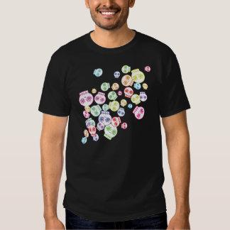 Jumble of Sugar Skulls T Shirts