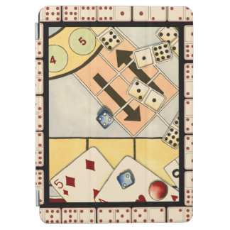 Jumbled Assortment of Games of Chance iPad Air Cover